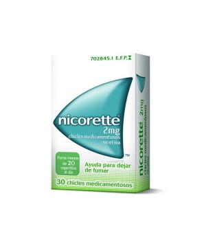 NICORETTE 2 MG 30 CHICLES