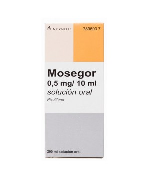 MOSEGOR 0.25 MG/5 ML SOLUCION ORAL 200 ML