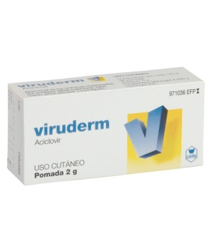 VIRUDERM 50 MG/G POMADA 2 G