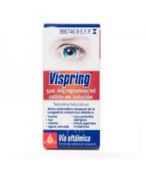 VISPRING 0.5 MG/ML COLIRIO 1 FRASCO SOLUCION 10 ML
