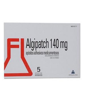 ALGIPATCH 140 MG 5 APOSITOS ADHESIVOS