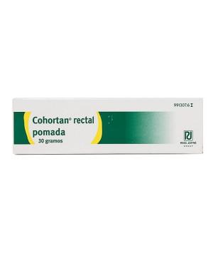 COHORTAN RECTAL POMADA RECTAL 30 G