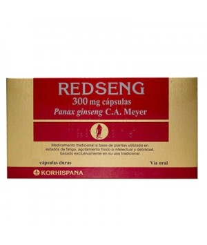 REDSENG 300 MG 100 CAPSULAS
