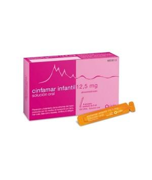 CINFAMAR INFANTIL 12.5 MG SOLUCION ORAL 6 UNIDOSIS 5 ML