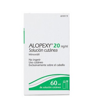 ALOPEXY 20 MG/ML SOLUCION CUTANEA 1 FRASCO 60 ML