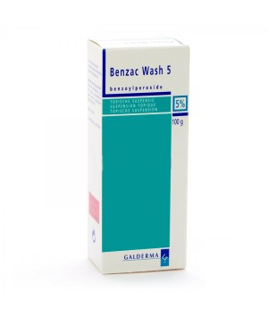 BENZAC WASH 50 MG/G GEL TOPICO 100 G