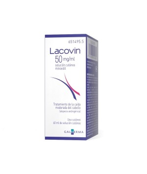 LACOVIN 50 MG/ML SOLUCION CUTANEA 1 FRASCO 60 ML