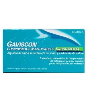 gaviscon 48 COMPRIMIDOS MASTICABLES MENTA