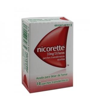 NICORETTE 10 MG/16 H 14 PARCHES TRANSDERMICOS 16.6 MG