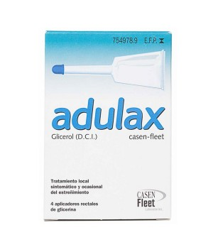 ADULAX CASEN FLEET 6.14 ML SOLUCION RECTAL 4 ENEMAS 7.5 ML