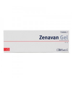 ZENAVAN 50 MG/G GEL TOPICO 60 G