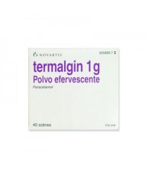 TERMALGIN 1 G 40 SOBRES EFERVESCENTES