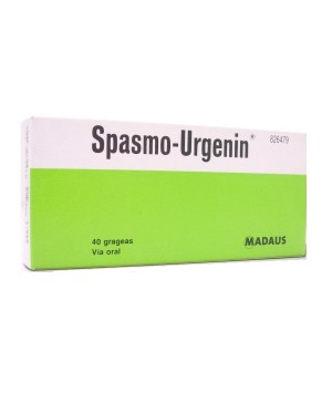 SPASMO URGENIN 40 GRAGEAS