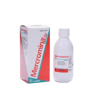 MERCROMINA FILM LAINCO 20 MG/ML SOLUCION TOPICA 250 ML
