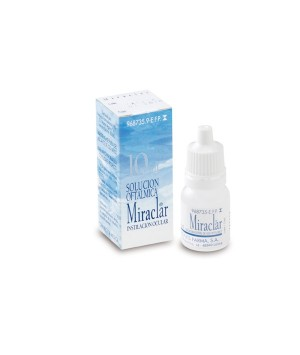 MIRACLAR 0.2 MG/ML COLIRIO 1 FRASCO 10 ML