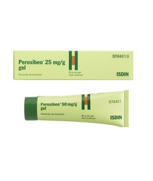 PEROXIBEN 5% GEL TOPICO 30 G