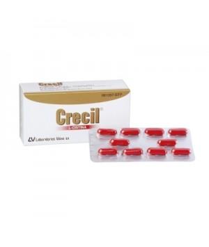 CRECIL 500 MG 40 CAPSULAS