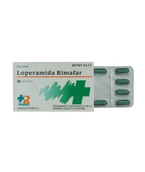 LOPERAMIDA RIMAFAR 2 MG 20 CAPSULAS