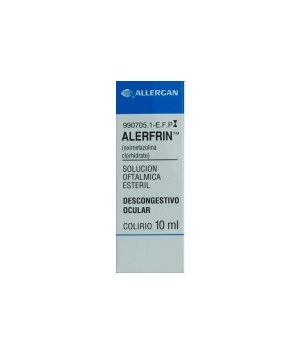 ALERFRIN 0.25 MG/ML COLIRIO 1 FRASCO SOLUCION 10 ML
