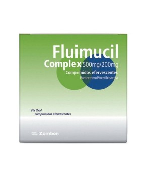 FLUIMUCIL COMPLEX 500/200 MG 12 COMPRIMIDOS EFERVESCENTES