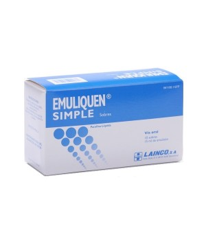 EMULIQUEN SIMPLE 7.17 G 10 SOBRES 15 ML
