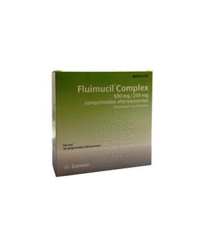 FLUIMUCIL COMPLEX 500/200 MG 16 COMPRIMIDOS EFERVESCENTES