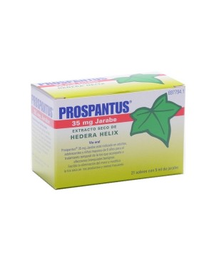 PROSPANTUS 35 MG 21 SOBRES JARABE 5 ML
