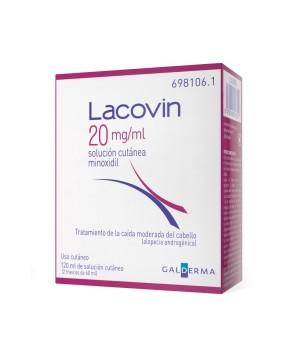 LACOVIN 20 MG/ML SOLUCION CUTANEA 2 FRASCOS 60 ML