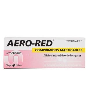 AERO RED 40 MG 30 COMPRIMIDOS MASTICABLES