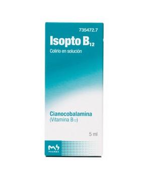 ISOPTO B 12 0.5 MG/ML COLIRIO 1 FRASCO SOLUCION 5 ML