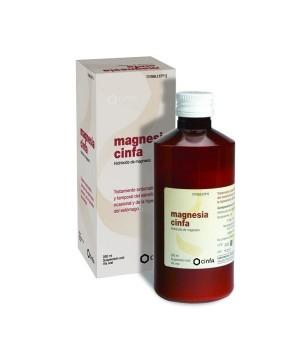 MAGNESIA CINFA 200 MG/ML SUSPENSION ORAL 300 G