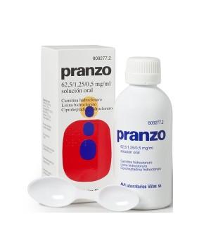 PRANZO SOLUCION ORAL 200 ML