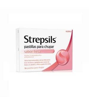 STREPSILS 16 PASTILLAS PARA CHUPAR FRESA