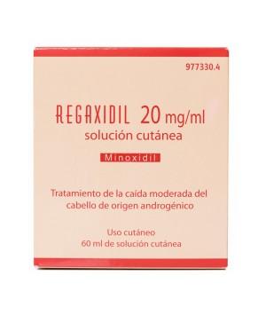 REGAXIDIL 20 MG/ML SOLUCION CUTANEA 1 FRASCO 60 ML