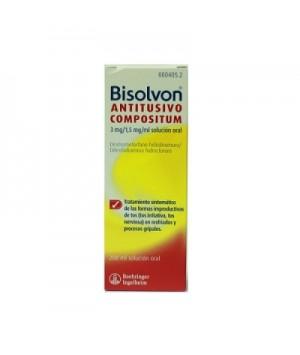 BISOLVON ANTITUSIVO COMPOSITUM 3/1.5 MG/ML SOLUCION ORAL 200 ML