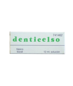 DENTICELSO SOLUCION TOPICA 12 ML