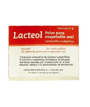LACTEOL 10 SOBRES POLVO