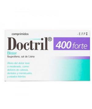 DOCTRIL FORTE 400 MG 10 COMPRIMIDOS RECUBIERTOS