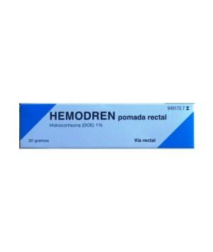 HEMODREN RECTAL 10 MG/G POMADA RECTAL 30 G