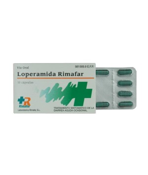 LOPERAMIDA RIMAFAR 2 MG 10 CAPSULAS