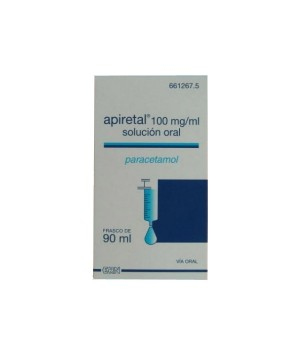 APIRETAL 100 MG/ML SOLUCION ORAL 90 ML