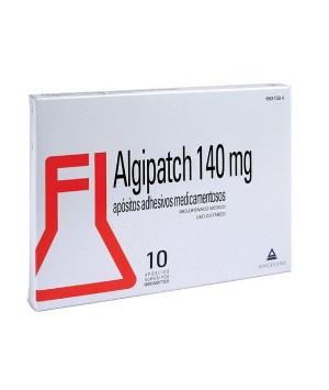 ALGIPATCH 140 MG 10 APOSITOS ADHESIVOS