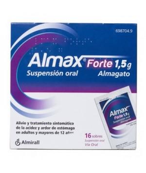 ALMAX FORTE 1.5 G 16 SOBRES SUSPENSION ORAL